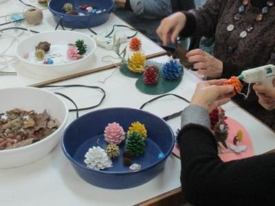 木の実アート展『作り方教室』申込み受付中